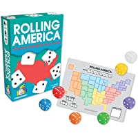 Gamewright Rolling America The Star Spangled Dados Juego de acción