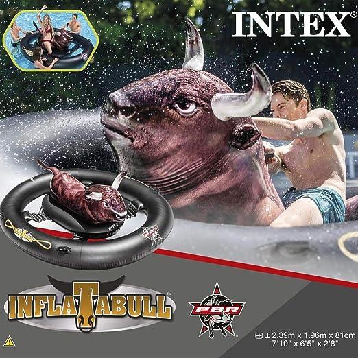 vidaXL Intex Inflatabull 56280EU - Isla de baño Hinchable ...
