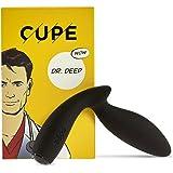 CUPE Dr. Deep Analplug - Vibrierender Buttplug, Analvibrator mit sicherem Haltegriff, Prostata-Stimulator mit Vibration