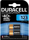 DURACELL 2 piles photo ultra lithium long lasting power 123