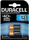 Duracell Specialty Ultra Typ 123 M3 3 V Lithium Fotobatterie, (2er Pack)