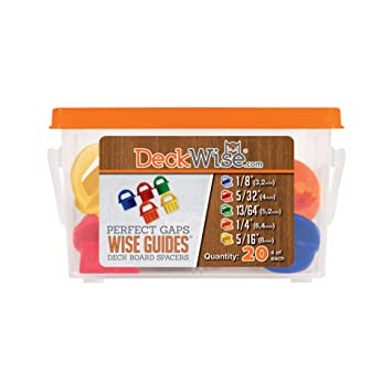 Amazon Com Deckwise Wiseguides Assorted Deck Board Spacer Guides