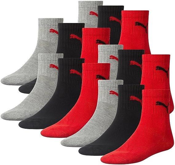 PUMA Short Crew Socks Sportsocken Mit Frotteesohle 12er Pack Calcetines Deportivos, Hombre: Amazon.es: Deportes y aire libre