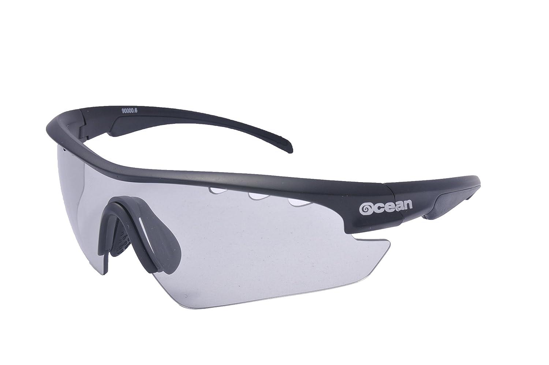 Ocean Sunglasses Ironman, Occhiali da Sole, Montatura: Nero Opaco, Lenti: Fotocromatiche, 90000.5