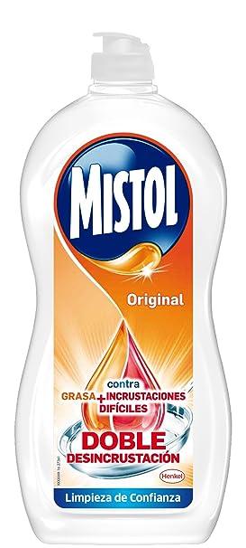 Mistol - Lavavajillas - Contra grasa + incrustaciones - 900 ml ...