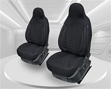 Maß Sitzbezüge Kompatibel Mit Mercedes Cla Klasse C117 Fahrer Beifahrer Ab 2013 2019 Farbnummer Pl404 Auto