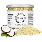Nacare Hard Wax Beads All Purpose Painless Wax Gentle Hair Removal for Men and Women with Coconut Oil 300G