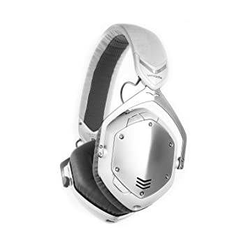 V-MODA Crossfade inalámbrico | 3d over Ear Bluetooth Auriculares color blanco plata: Amazon.es: Electrónica