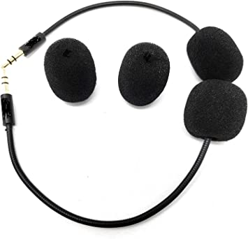 Micr/ófono de Repuesto para Auriculares de Juegos de Tortuga de 3,5 mm para Xbox One PS4 PC