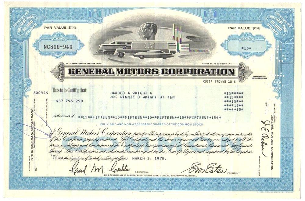 International Telephone /& Telegraph 2 Color Stock Certificate Set ITT