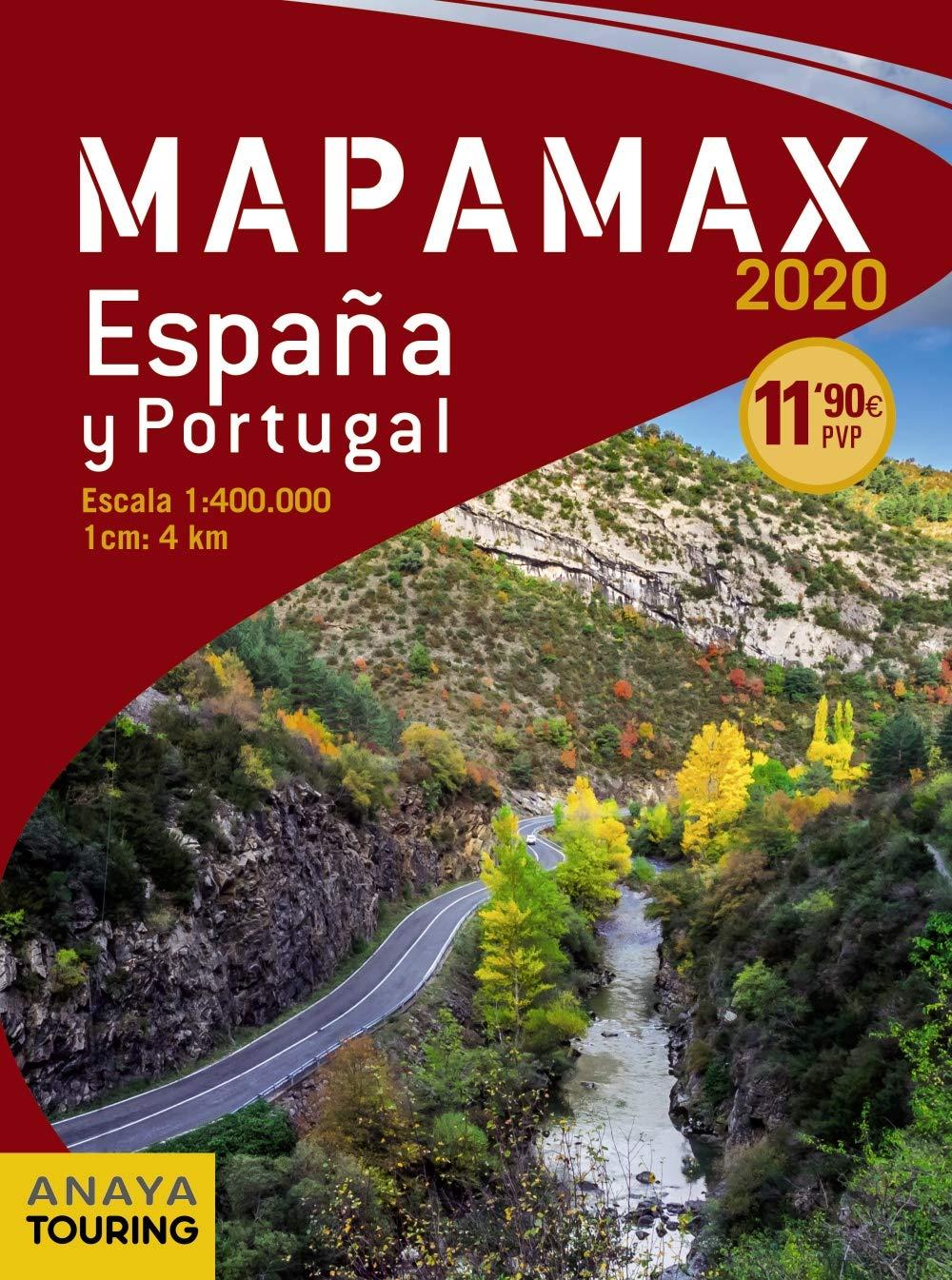 Mapamax - 2020 (Mapa Touring): Amazon.es: Anaya Touring: Libros