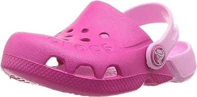 Crocs Kids' Electro Clog, Candy pink