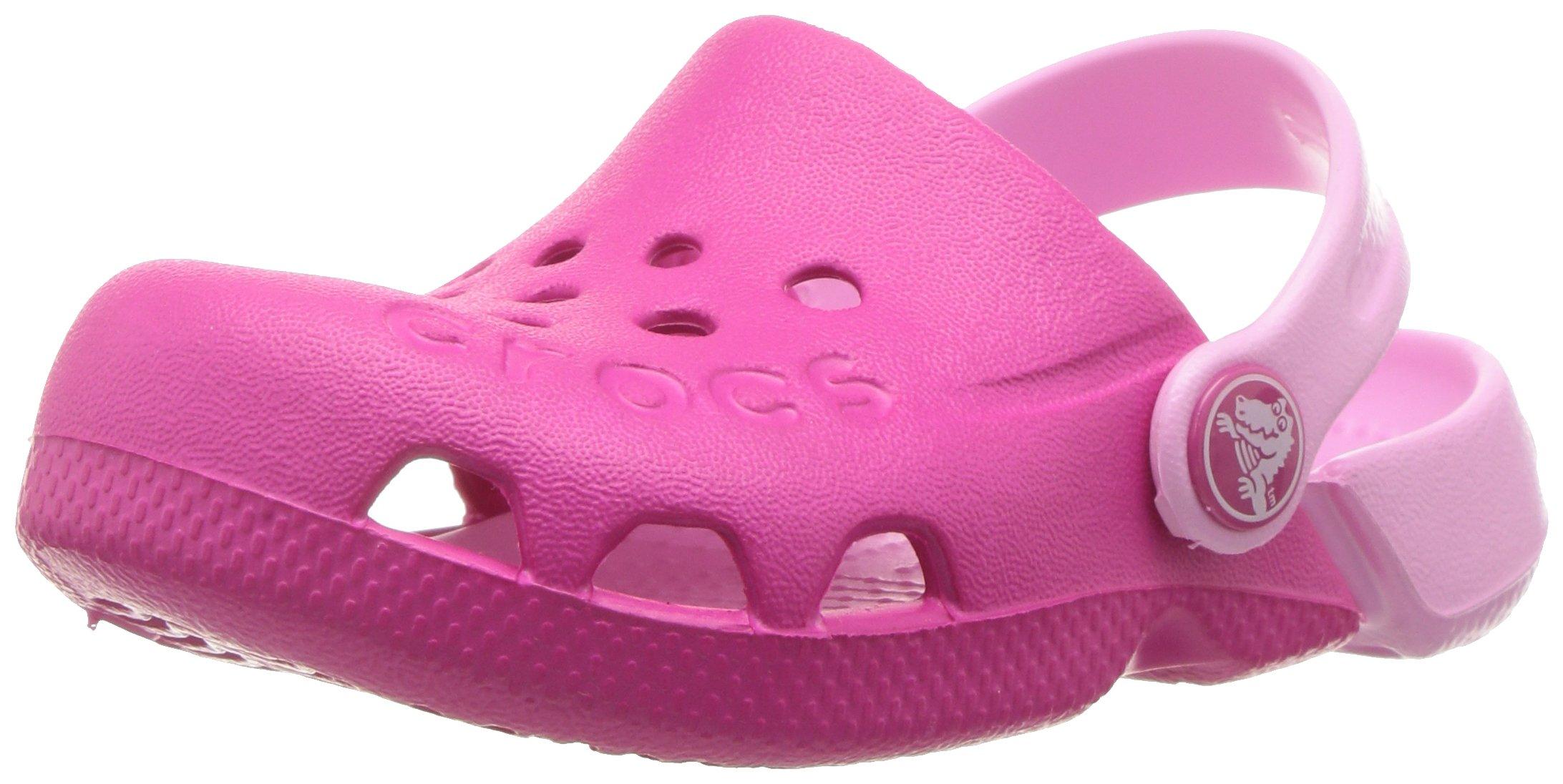 Crocs Unisex-Kids Electro Clog, Candy Pink/Carnation, 11 M US Little Kid