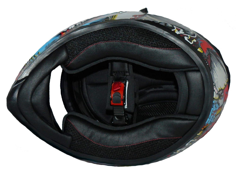 XS Multicolor Protectwear V128-MU-XS Casco Integral