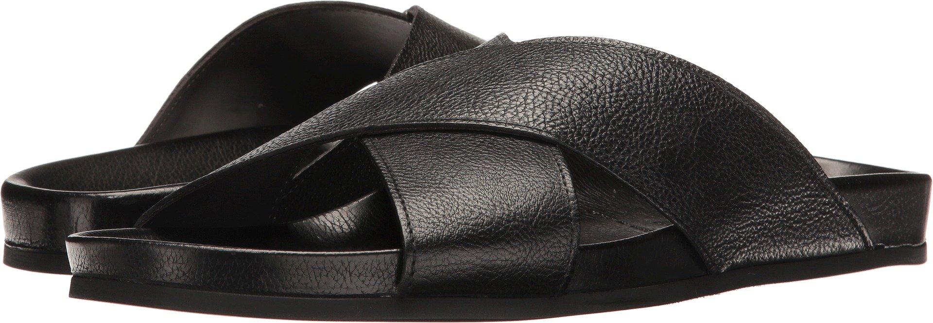 To Boot New York Men's Sondro Slide Sandal, Nappa Sport Nero, 10 M US