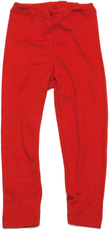 Merino Wool Silk Children Leggings Pants Underwear