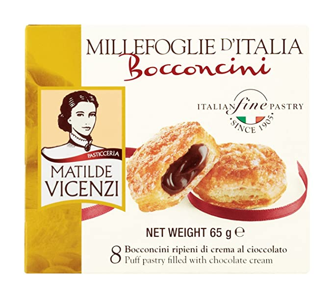 Matilde Vicenzi, Dulce de chocolate (Hojaldres) - 4 de 65 gr. (