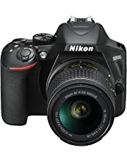 Nikon D3500 KIT AF-P 18-55 VR Single Lens Kit, Black (VBK550XA)