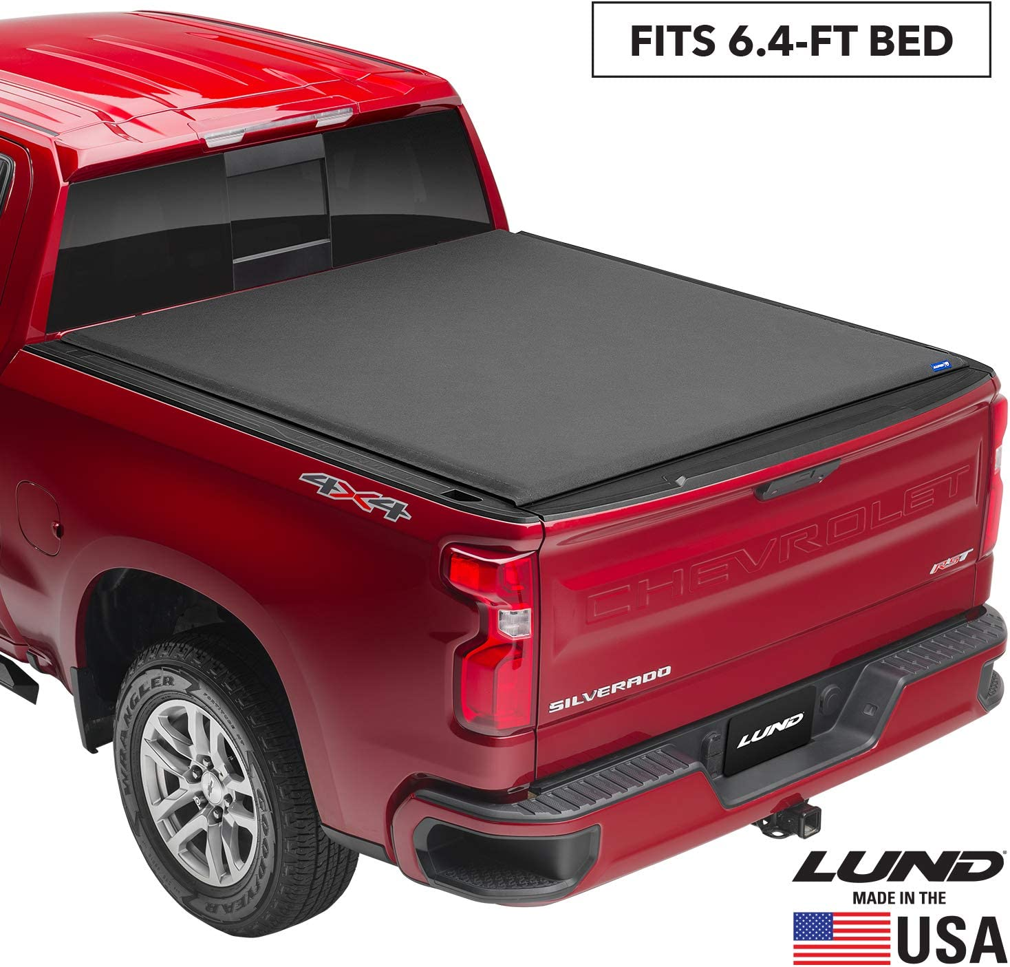"Lund Genesis Elite Roll Up, Soft Roll Up Truck Bed Tonneau Cover | 96817 | Fits 1994 - 2001 Dodge Ram 1500 6' 4"" Bed"