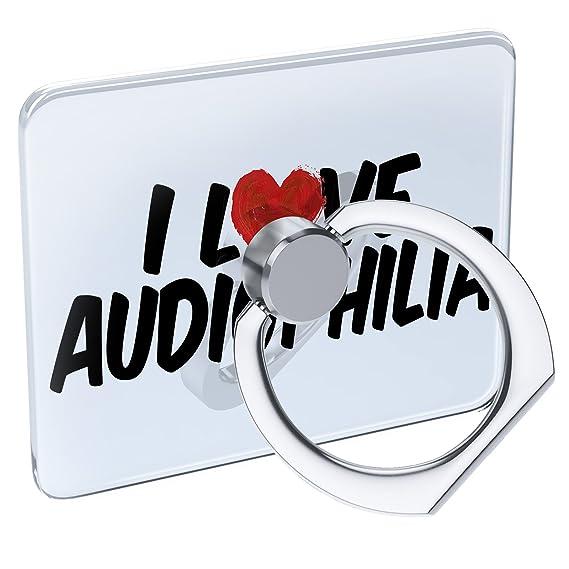 Amazon com: Cell Phone Ring Holder I Love Audiophilia
