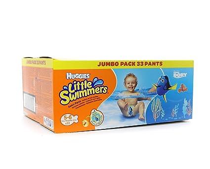 Huggies Little Swimmers Jumbo Pack 33 Pantalones 5-6
