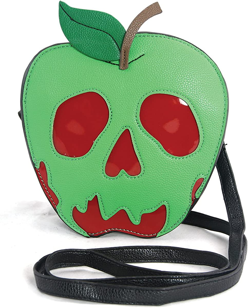 Sleepyville Critters - Poisoned Apple Crossbody Bag in Vinyl Material