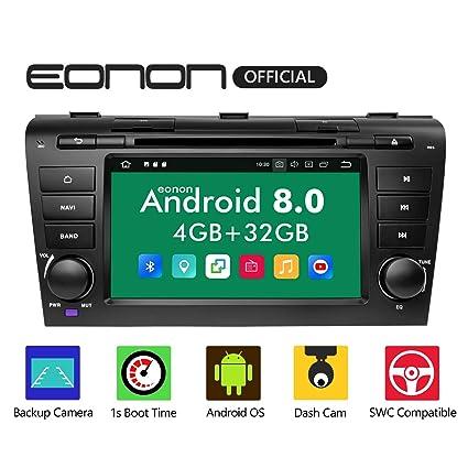 Eonon Android Auto,CarPlay Car Stereos, Double 2 Din Car Stereo Radio, 4GB  RAM +32GB ROM Bluetooth Android 8 0 Head Unit Octa-Core 8 Inch in Dash