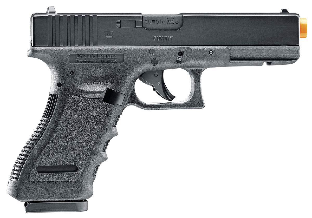 Elite Force Glock 17 Gen3 Blowback 6mm BB Pistol Airsoft Gun, Clamshell Packaging by Elite Force