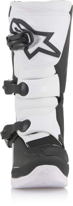 Eu 39 // Us 6 , Blanc Bottes Motocross Enfant Alpinestars Tech 3 S Noir-Blanc