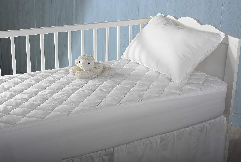 Pikolin Home - Protector de colchón acolchado cubre colchón lyocell para cuna, híper-transpirable e impermeable, 60 x 120 cm (Todas las medidas): Amazon.es: ...