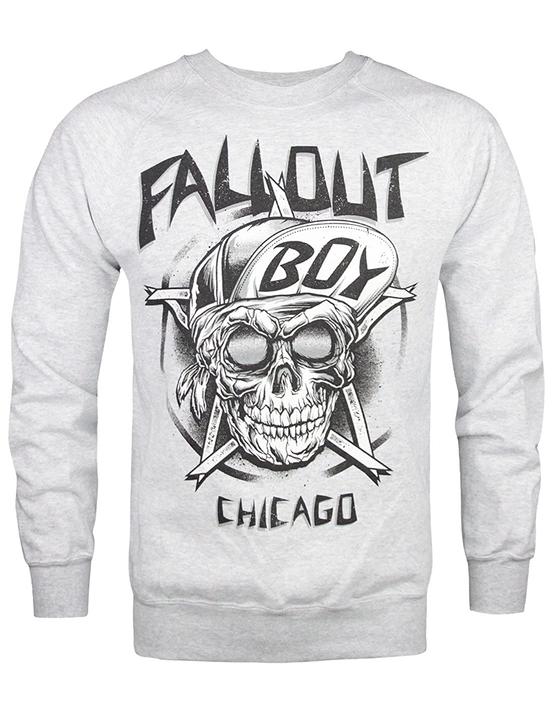 Official Fall Out Boy Skull Men's Sweater