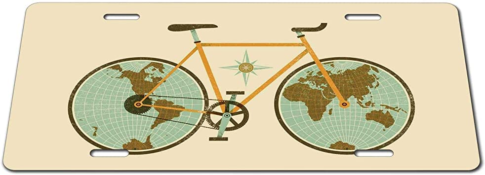 Steven Smedley Globe, Mapa del Mundo, Bicicleta, Viajes Alrededor ...