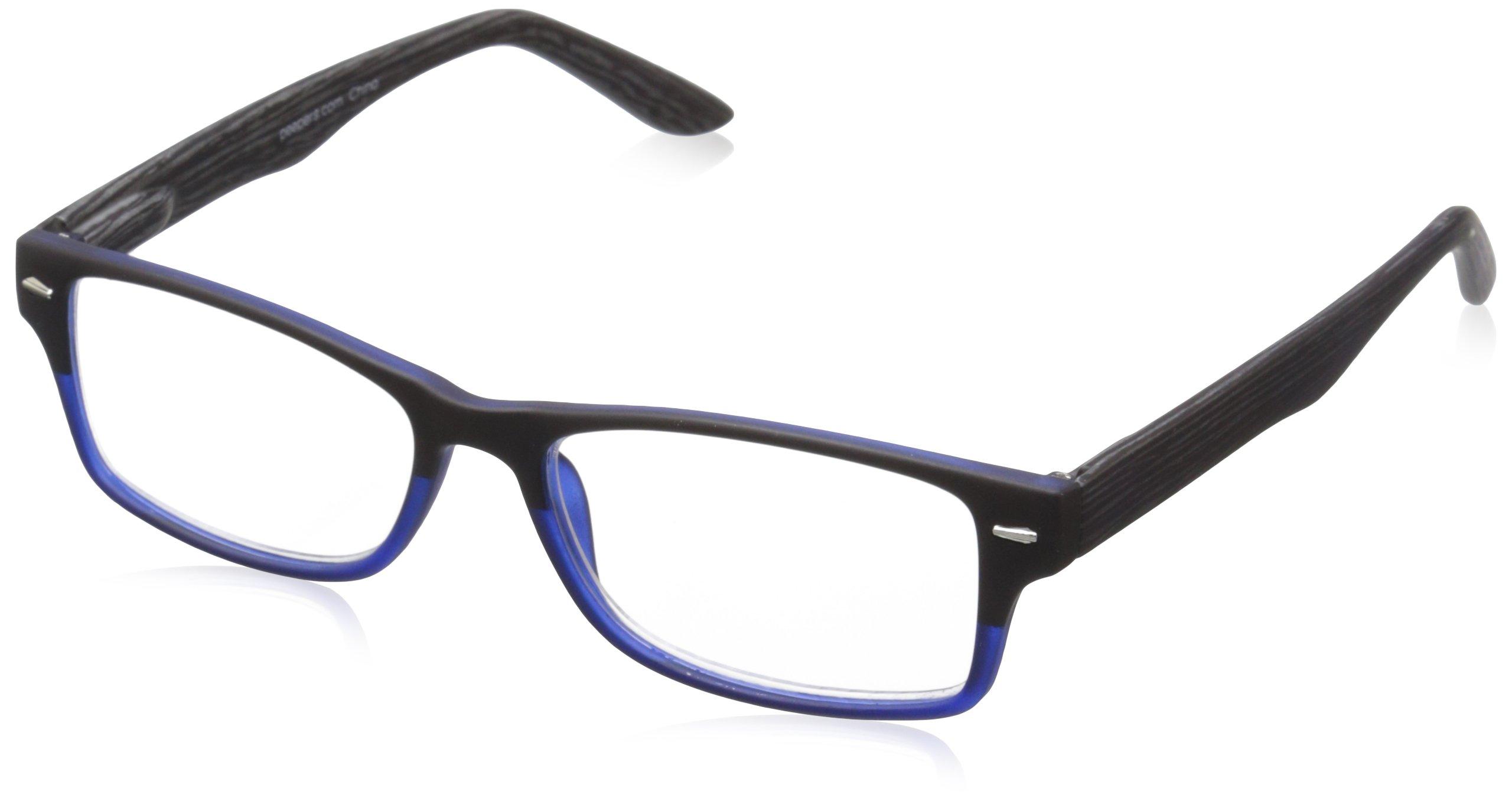 Peepers Men's Page Turner Rectangular Reading Glasses