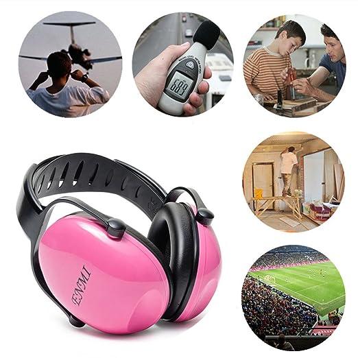 Auriculares de protección auditiva para reducción de ruido, para bebés de más de 3 meses, color azul, cómodos para viajar, descansar, de Enmi Baby Ear ...