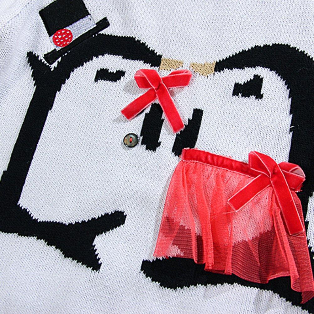 Yanzi6 Toddler Boys Girls Sweatshirt Christmas Cartoon Pullover Sweater