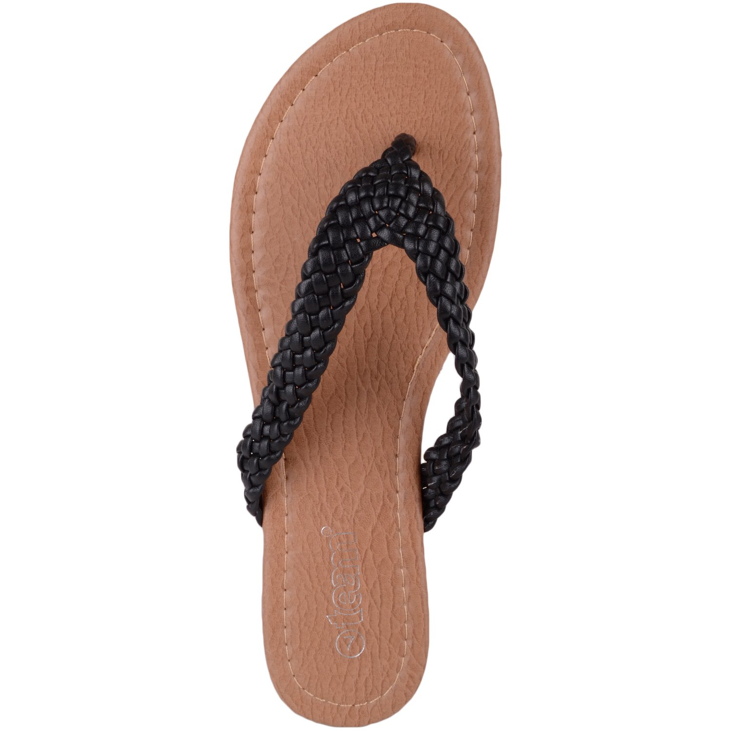 9289cb7fd Absolute Footwear Womens Summer Holiday Beach Sandals Flip Flips Toe Posts  Shoes - Black - UK 3  Amazon.co.uk  Shoes   Bags