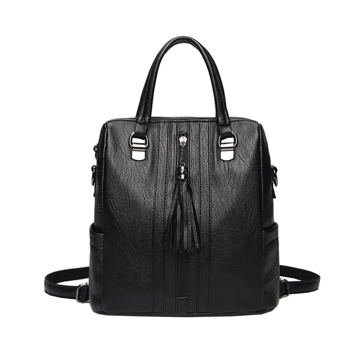 LAIDAYE Damen Umhängetasche Mode Pu Reise Rucksack Damen Umhängetasche Multifunktionale Damen Umhängetasche Diagonal Paket Tasche