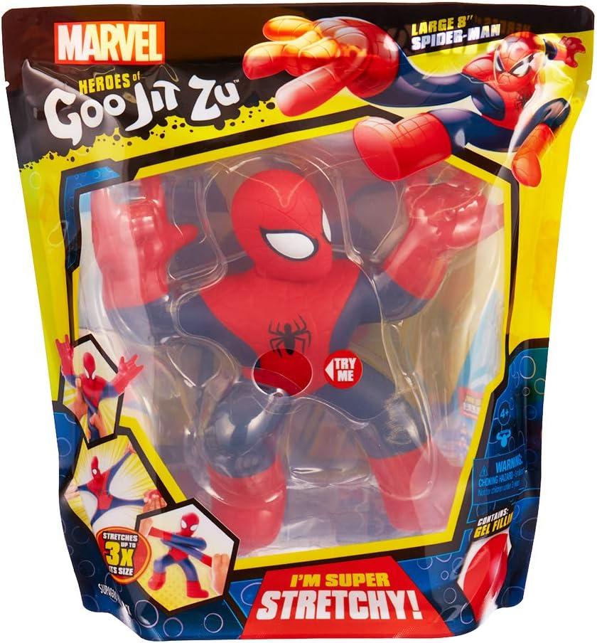 Marvel Heroes of Goo Jit Zu- HÉROES DE GOO JIT ZU SUPERGOO Spiderman (Moose 41081): Amazon.es: Juguetes y juegos