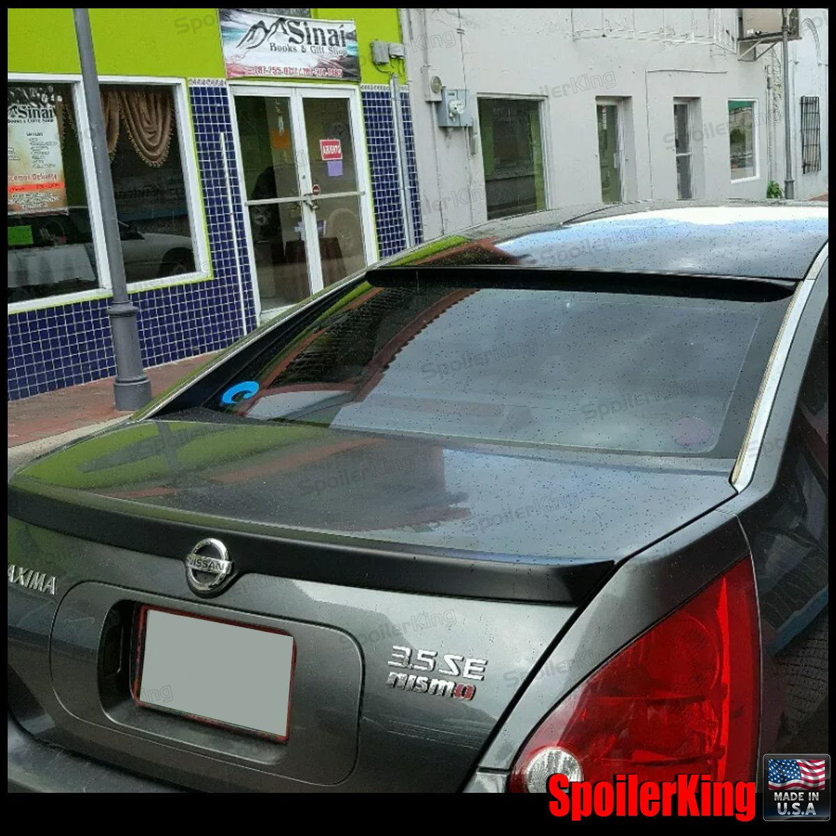 Nissan Maxima Rear Window Roof Spoiler 2004 2008