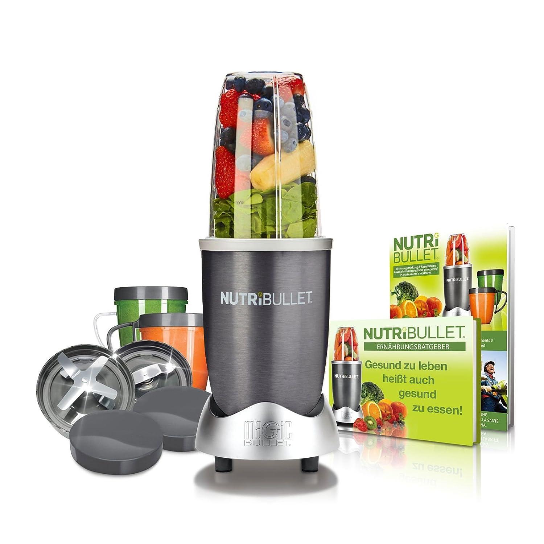 NutriBullet NBR-1240M - Aparato para Preparar Smoothies, color Gris