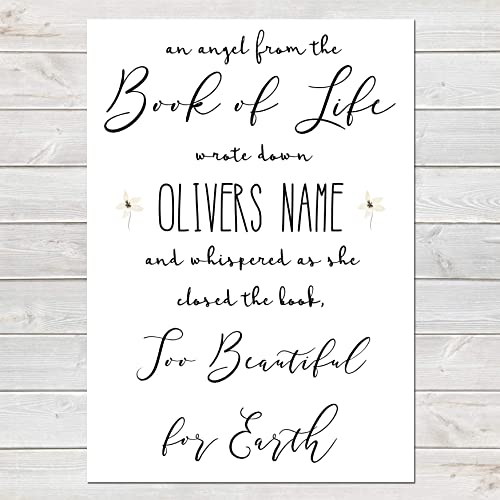 An Angel From the Book of Life Quote, Baby Loss Stillborn ...