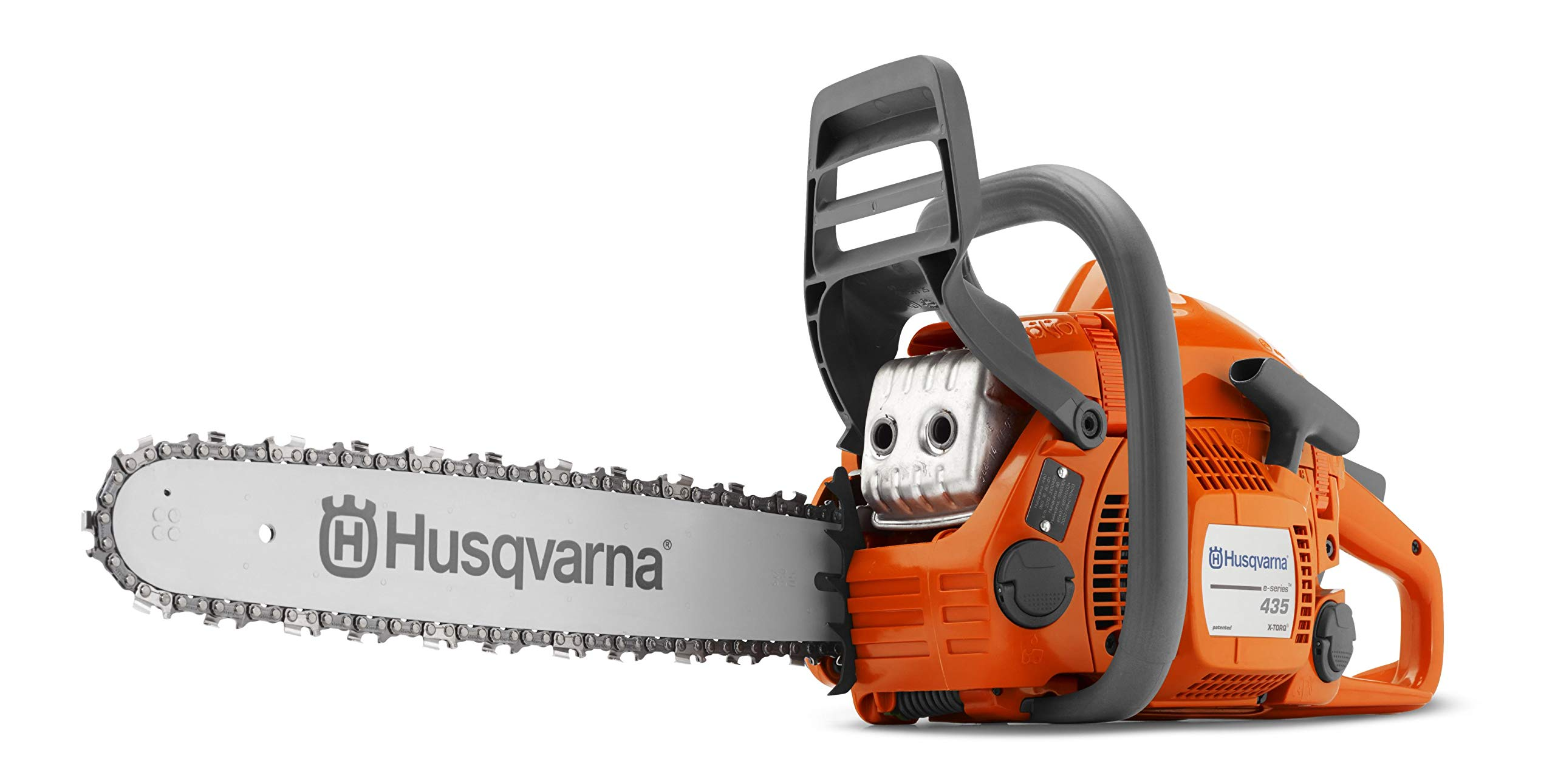 HUSQVARNA 435 16in 40.9cc 2.2hp Gas Powered Chainsaw (Renewed)