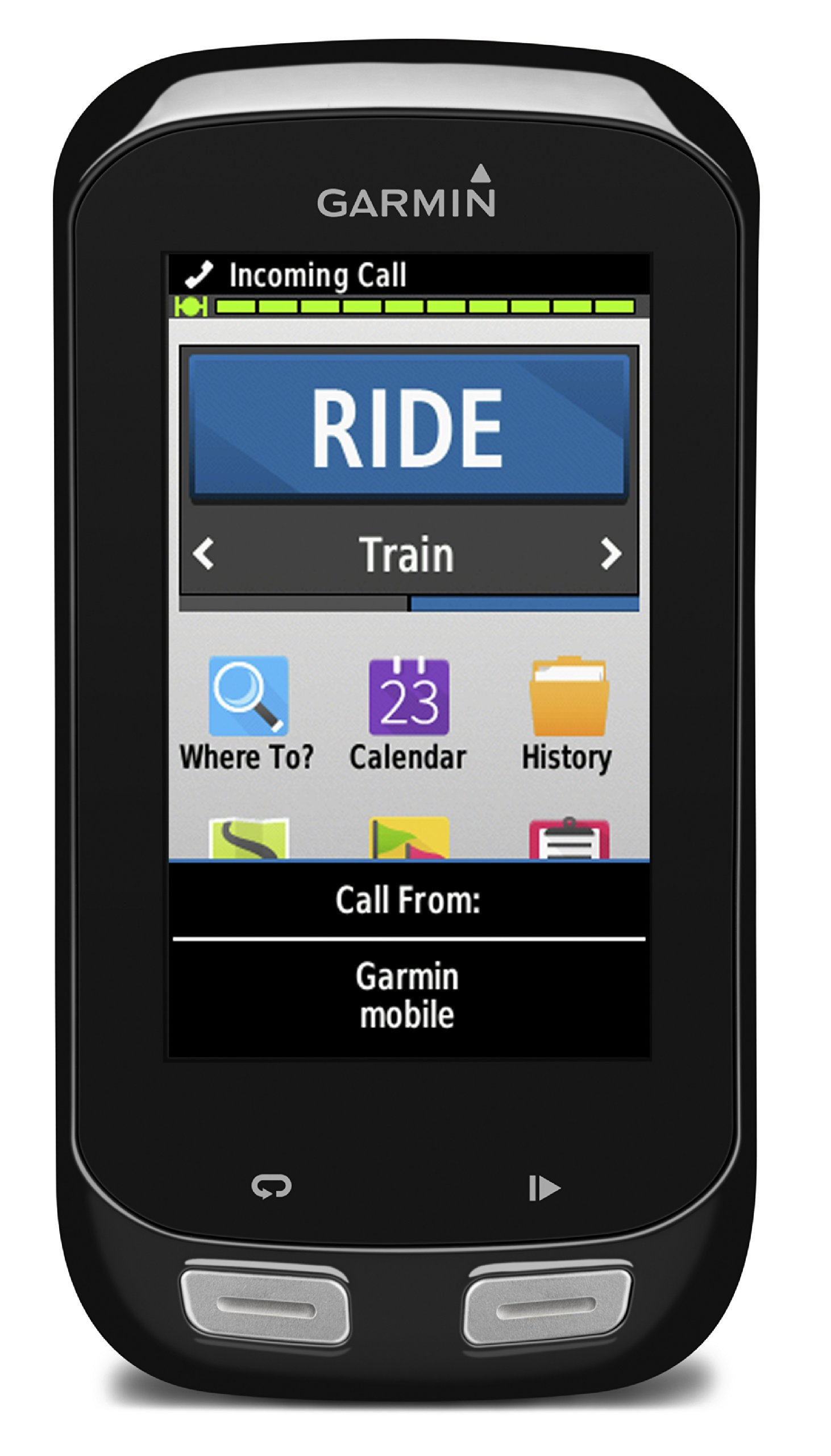 Garmin Edge 1000 Touchscreen GPS Bike Computer with Premium Heart Rate Monitor, Speed and Cadence Sensors - Black product image