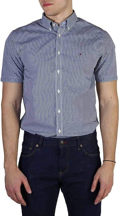 Tommy Hilfiger Camisa para Hombre: Amazon.es: Ropa y accesorios
