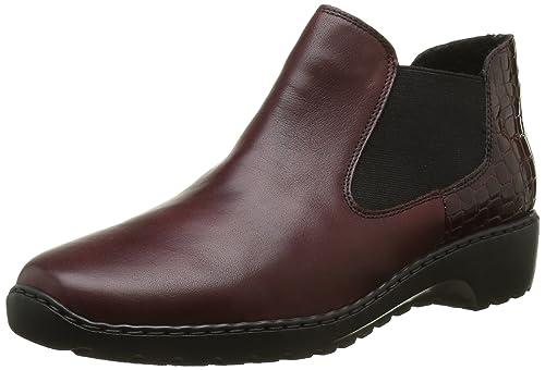 Rieker Damen L6090 Chelsea Boots, Rot (Medoc/Bordeaux/35), 39 EU