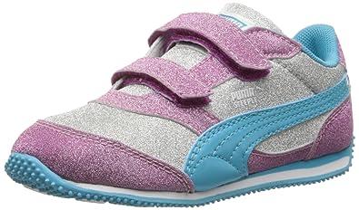 329fdab79872 PUMA Steeple Glitz Multi V Kids Classic Sneaker (Toddler Little Kid Big Kid