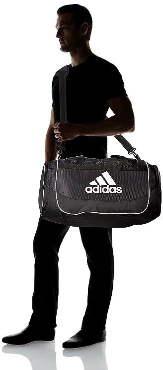 Amazon.com  adidas Unisex Defense Medium Duffel Black One Size  Clothing 7c579958dee46