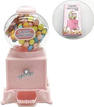 Schneespitze Distributore Caramelle,Candy Grabber con Il Pulsante, Dispenser Chewing Gum Dispenser Rosa Chiaro può Essere Usato Come Un Salvadanaio