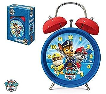 PAW PATROL - Reloj Despertador, campañas (Sun City PPA301855)