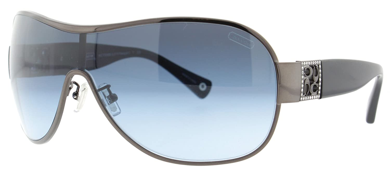 65780ccf96 Amazon.com  Coach Hc 7005B(L016 Reagan) Bronze Black Frame Blue Gradient  Lens 99Mm  Clothing